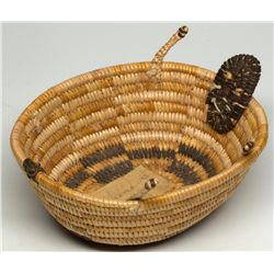 Panamint Turtle Effigy Basket