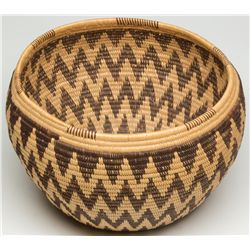 Panamint Zig Zag and Star Basket