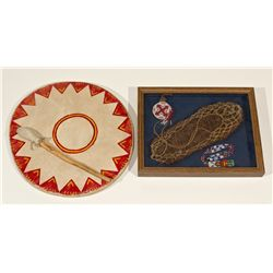 American Indian Drum & Shadow Box