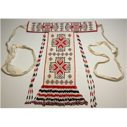 Beaded Indian Neck Plate