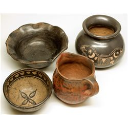 Indian Pottery Quartet