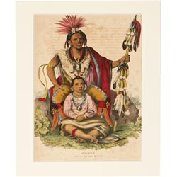 Keokuk Chief of the Sacs and Foxes Print