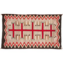 Navajo Eagle Feather Rug