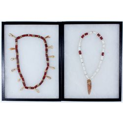 CANative American Beaded Necklace Duo