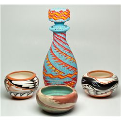 NMModern Native Pottery and Beadwork