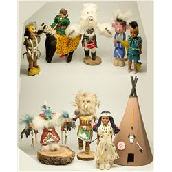 NVIndian Doll Collection