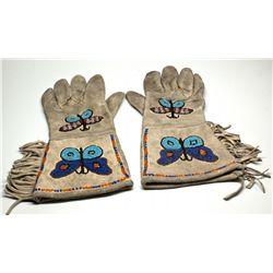 NV, Austin-Lander County-Hand Beaded Gloves