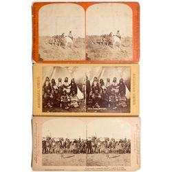NYStereoviews of Native American Indians