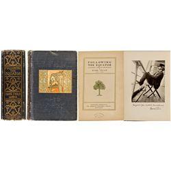 CT, Hartford--1st Edition Following the Equator, Twain
