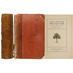 CT, Hartford--Twain's Following the Equator First Edition
