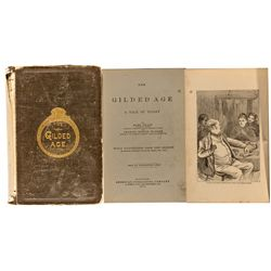 CT, Hartford--Twain's The Gilded Age First Edition