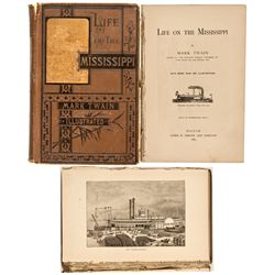 MA, Boston-Suffolk County-1st Edition Life on the Mississippi