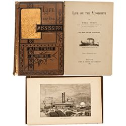 MA, Boston-Suffolk County-1st Edition Life on the Mississippi (2)