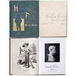 NY, New York--Huck Finn 1st American Edition