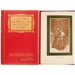 NY, New York--Twain's Double Barrelled Detective Story 1st Ed