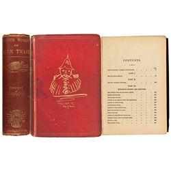 England, London--Controversial Mark Twain Book: Choice Works
