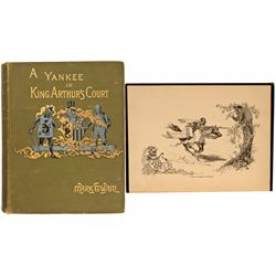 NY, New York--Yankee in King Arthur's Court First Edition