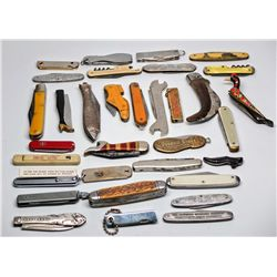 Pen and Pocket Knife Collection