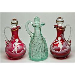 Victorian Style Cruet Trio