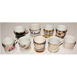 Victorian Shaving Mug Collection