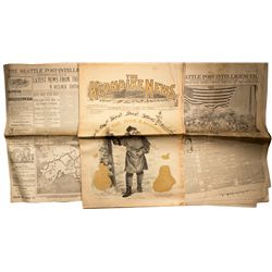 AK, Canada, Dawson--Klondike Newspapers