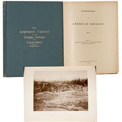CAThe Auriferous Gravels of the Sierra Nevada of California Volume I, by J.D. Whitney