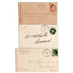CA, Bridgeport-Mono County-Bridgeport Postal Covers Collection