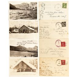 CA, Carsons Camp-Mono County-Rare Carsons Camp Post Card Group