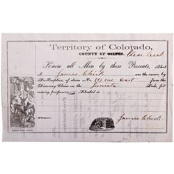 CO, Clear Creek County--Mining Pre-Emption Document