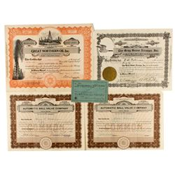 CO, Fort Collins-Larimer County-Gray Goose Airways & Colorado Stock Certificates