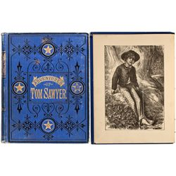 CT, Hartford--Adventures of Tom Sawyer 1890 Edition
