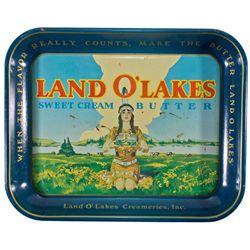 MN, Saint Paul-Ramsey County-Land O'Lakes Ad Tray