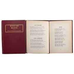 MT, Butte-Silver Bow County-Mining Poems Book