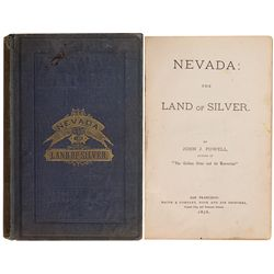 """NV""""Nevada: Land of Silver"""" Book by J. Powell"""