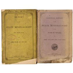 NVNevada State Mineralogist Reports