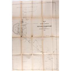 NVNevada Territories Public Survey Map *Territorial*