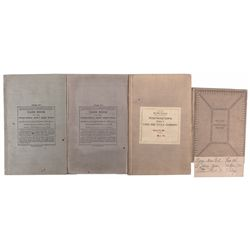 NV, Carson City--Carson City Postal Records Ledgers