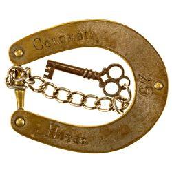 NV, Columbia-Elko county-Columbia Hotel Key Tag