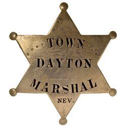 NV, Dayton-Lyon County-Town Marshall Badge