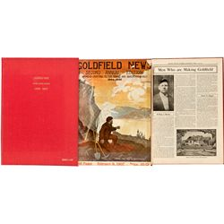 NV, Goldfield-Esmeralda County-Goldfield News Bound Volume