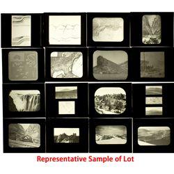 NV, Reno-Washoe County-Glass Lantern Geology Slides Collection
