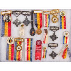 NV, Reno-Washoe County-Knights of Pythias Medal Assortment