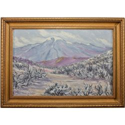 NV, Reno-Washoe County-Mt. Rose Painting