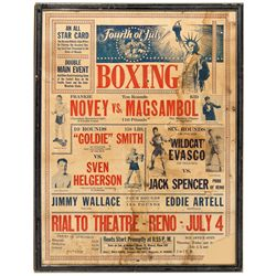 NV, Reno-Washoe County-Reno Boxing Broadside
