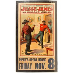 NV, Virginia City-Storey County-Jesse James Theatre Poster