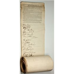 NV, Virginia City-Storey County-Original Sutro Tunnel Petition