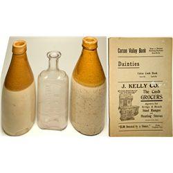 NV, Virginia City-Storey County-Virginia City Bottle Assortment