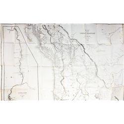 OR, Oregon--Early Oregon Territory Map *Territorial*