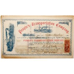 OR, Salem-Marion County-Choice Steamer People's Transportation Company Stock