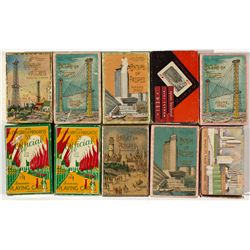 IL, Chicago-Cook County-1933 World's Fair Playing Cards